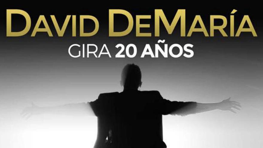 David DeMaría dará un concierto en Valleseco
