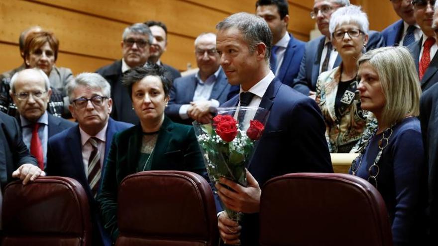 El Senado guarda un minuto de silencio por Álvarez Areces