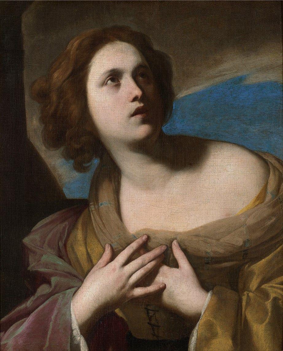 Massimo Stanzione, Santa (1635-40).jpg