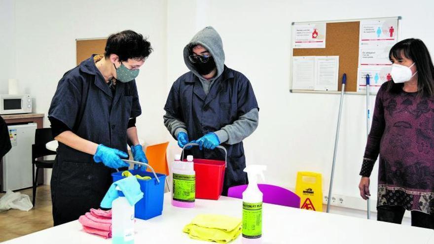 Figueres busca sortida laboral a les persones amb malalties mentals