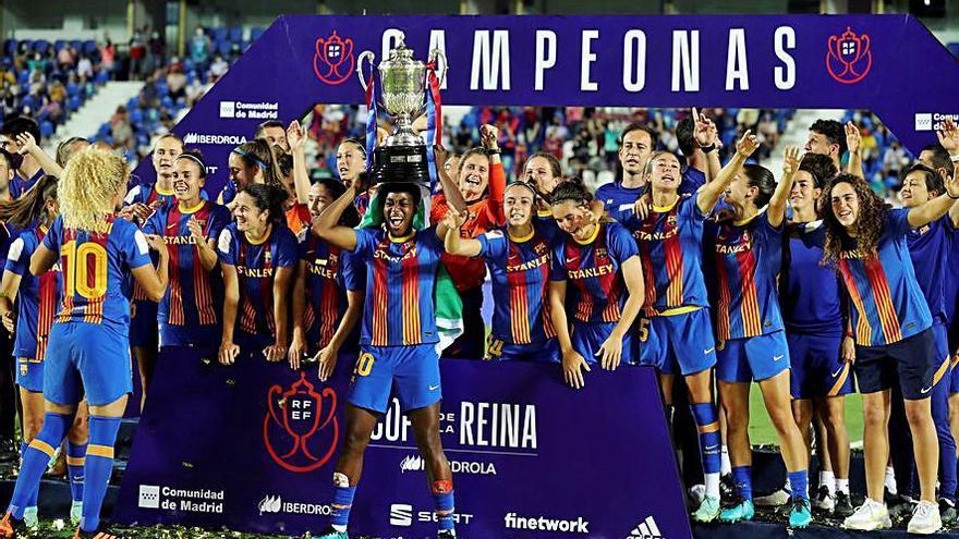 El Barcelona completa el histórico triplete ante un gran Levante