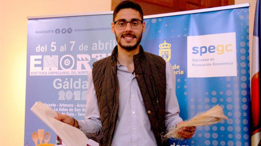Fibra ecológica a partir de desechos de platanera, idea innovadora de ENORTE 2019
