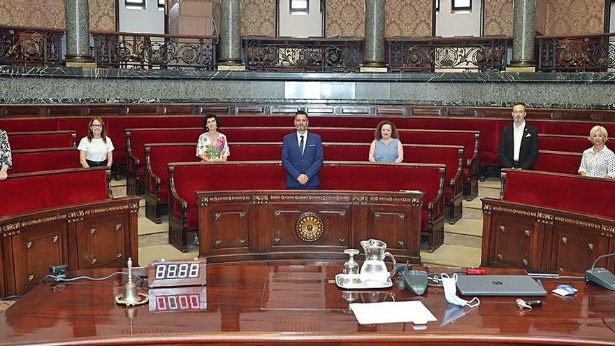 Galiana compone una JCF femenina y con dos secretarias generales