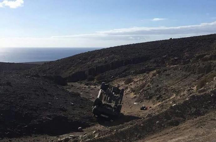 Un desprendimiento obliga a cerrar  la carretera de La Culata