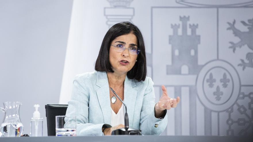 """Darias: """"España lidera la vacunación con pauta completa en el G20"""""""