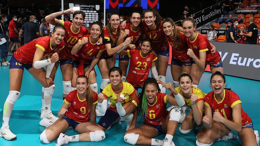 Raquel Montoro impulsa a España en el Europeo de Bulgaria