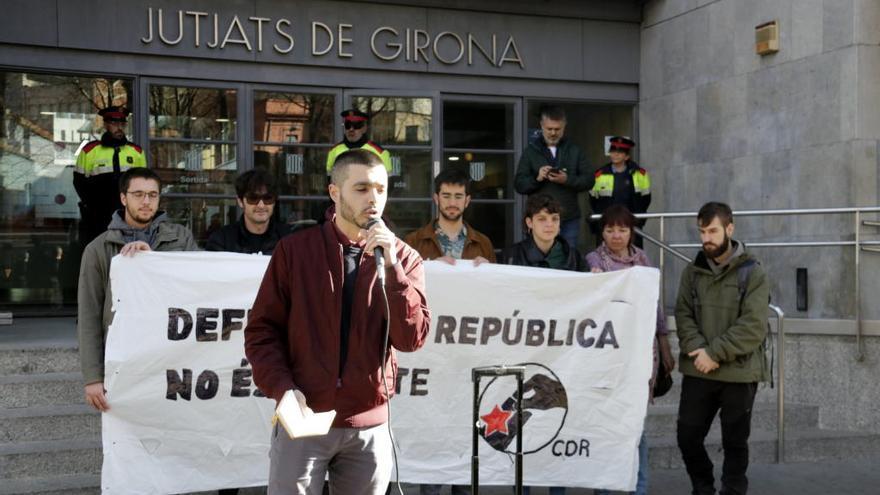 Detingut a Madrid un secretari nacional de l'ANC que no ha comparegut al jutjat de Girona