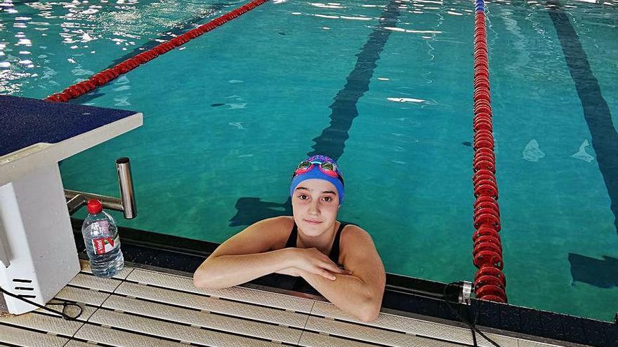 Gemma Romera, del CN Sallent, obté un tercer lloc a l'estatal