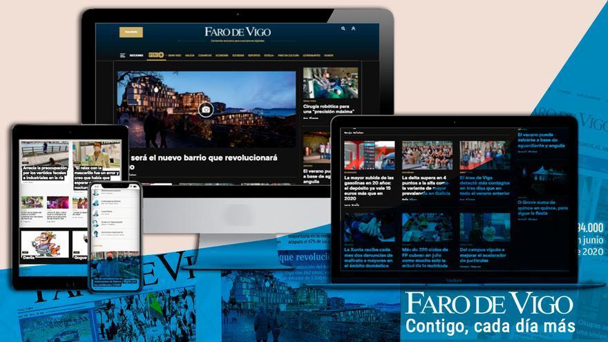 FARO DE VIGO, el periódico más leído en web en Galicia y octavo en el ranking nacional