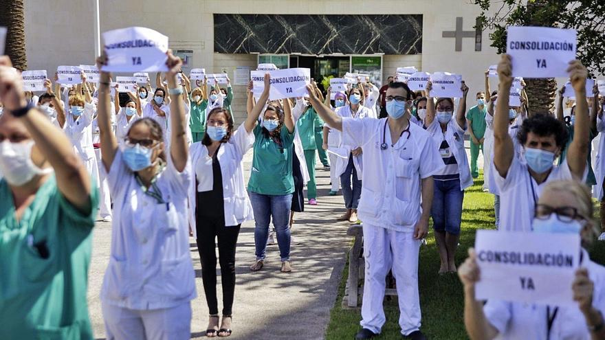 La Mesa de Médicos y Facultativos sostiene que sus demandas son legítimas