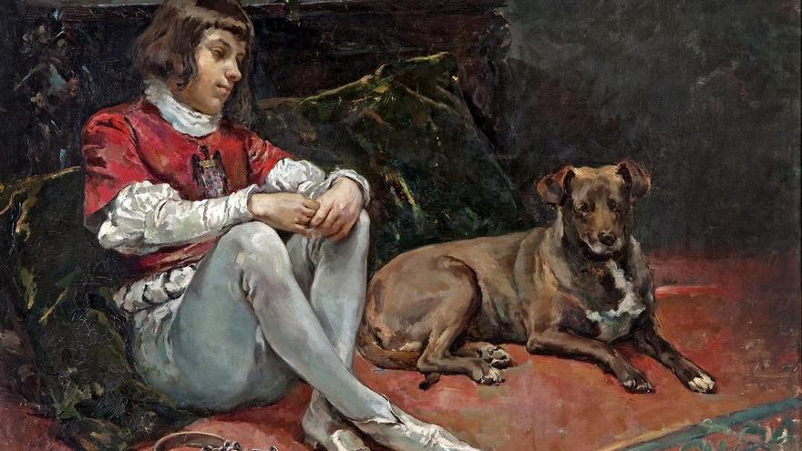 El Museo de Bellas Artes cede el lienzo 'La prisión del Príncipe de Viana' para una exposición sobre su figura en Valladolid