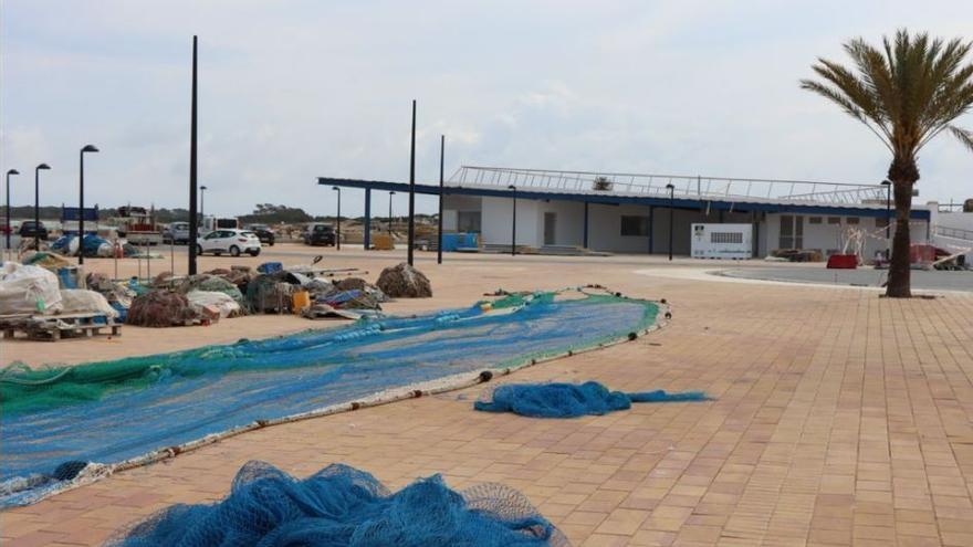 Los pescadores de Formentera todavía no ocupan su nueva sede