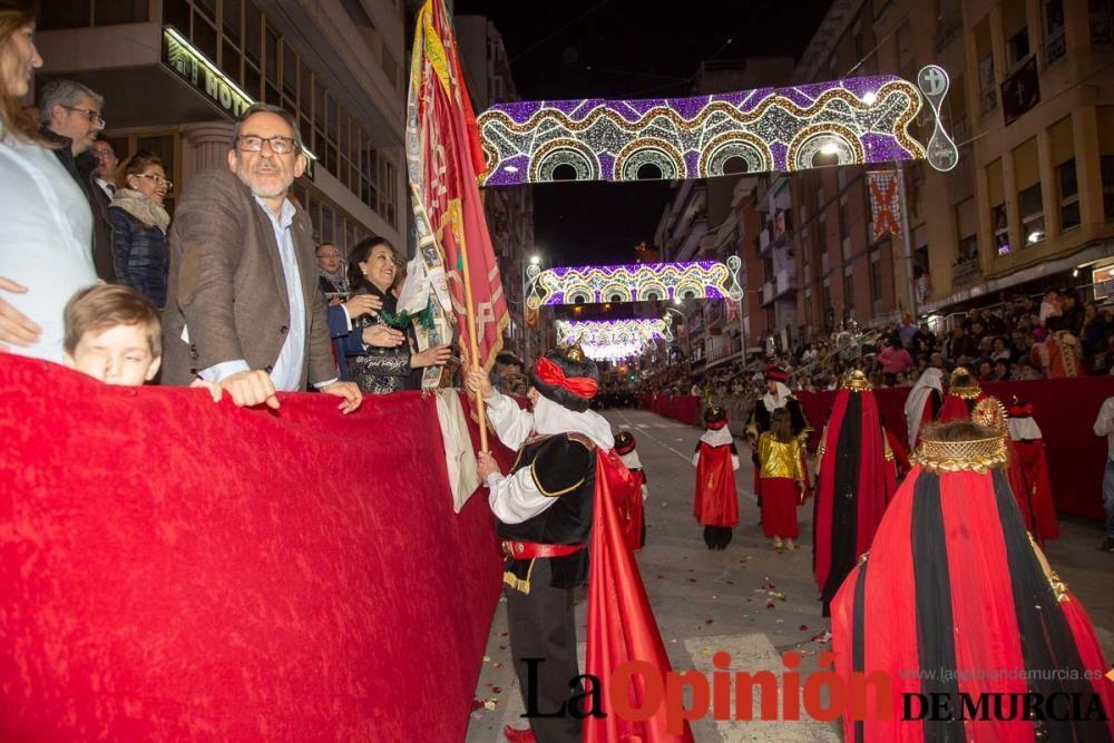 Desfile día 4 de mayo en Caravaca (Bando Moro paso