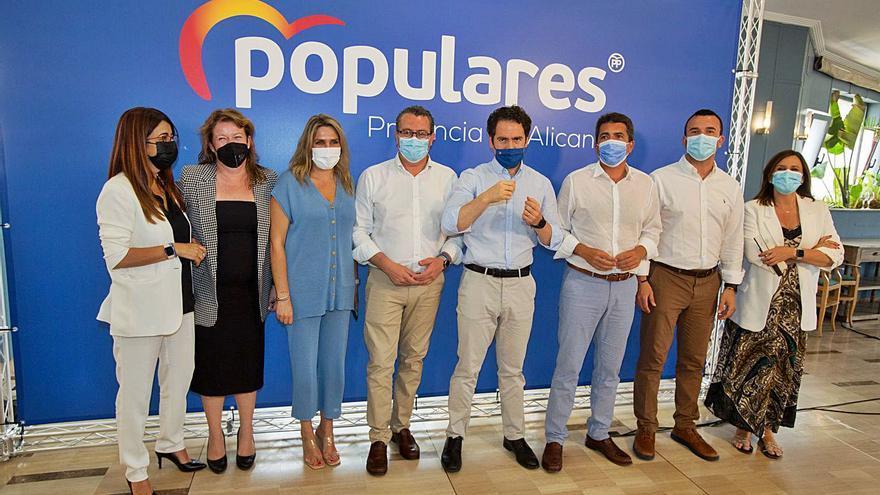 El alcalde de Benidorm sustituye a Carlos Mazón  al frente del PP de Alicante