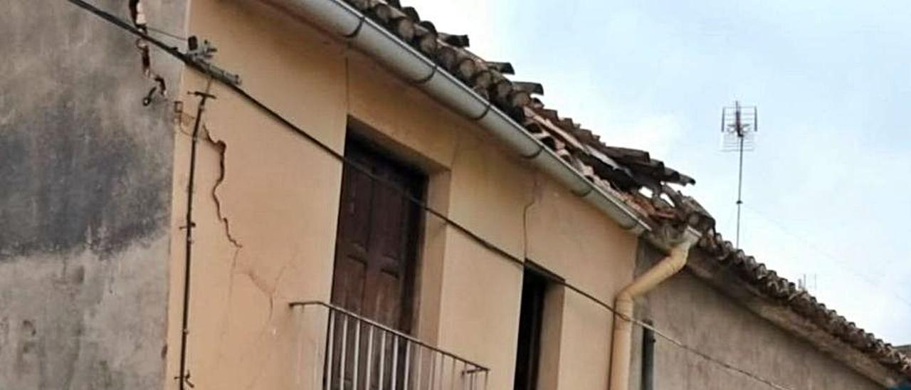 La vivienda está situada en la calle Santa Bàrbara. | AJUNTAMENT CARCAIXENT