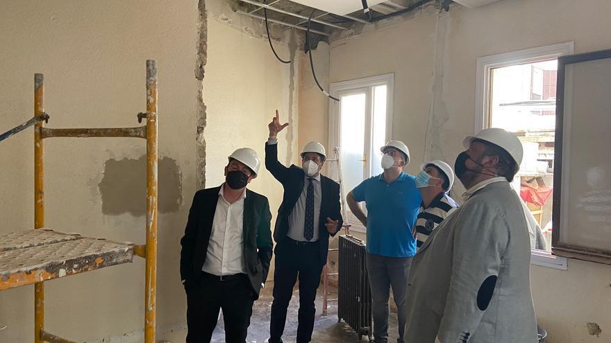 """Las obras de la """"embajada de Zamora en Madrid"""" terminarán a principios del verano"""