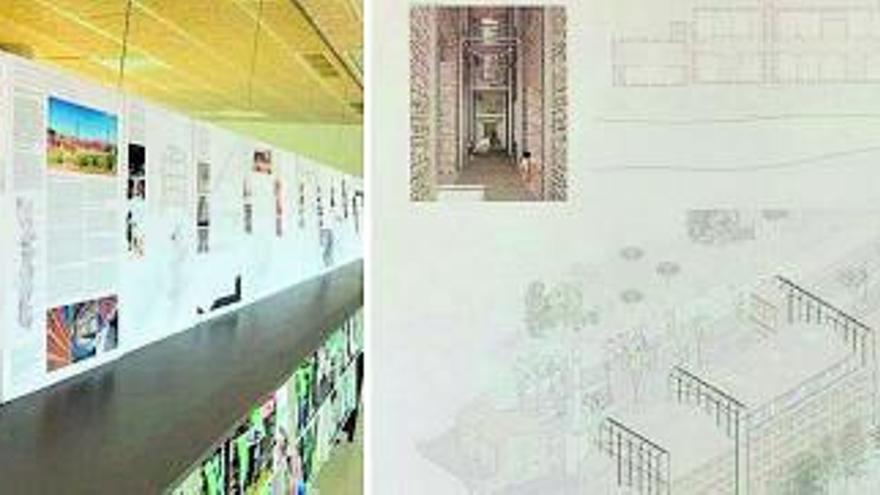 Alumnat d'arquitectura mostra el seu treball per a Cal Casas de Puig-reig