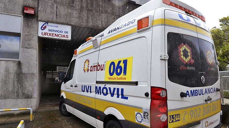 'Noche toledana' en urgencias de Lalín