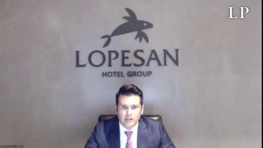 Desescalada en Canarias | El CEO de Lopesan interviene en un foro de la CEOE para plantear el futuro tras el coronavirus