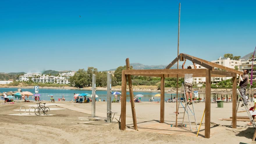 Estepona no permitirá hogueras ni aglomeraciones en sus playas por San Juan
