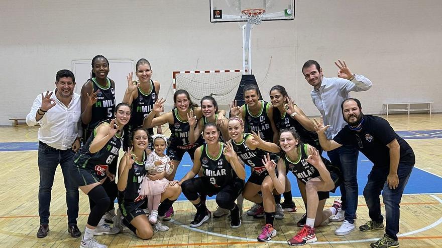El Milar Córdoba BF alarga su inicio histórico en la Liga 2 de baloncesto