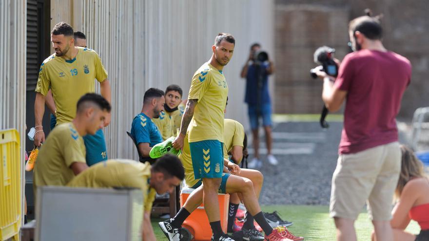 Entrenamiento de la UD Las Palmas (07/09/2021)