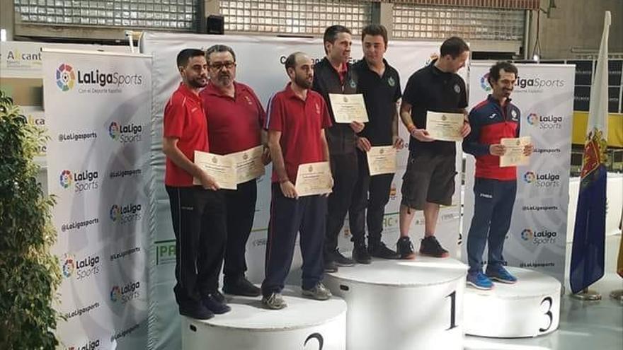 Cinco medallas para Asturias en el Campeonato de España de aire comprimido