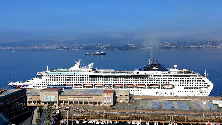 La llegada de cruceros a Vigo debe esperar