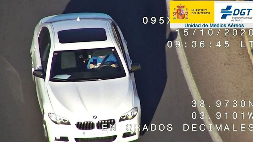 Así funcionan los drones que vigilan las carreteras de Málaga