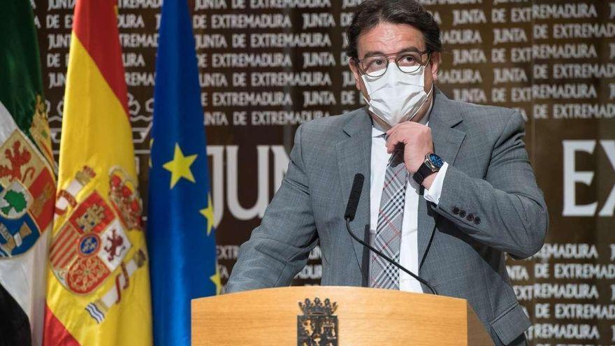 Vergeles informará esta tarde sobre la situación del coronavirus en Extremadura