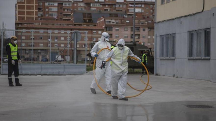 Desinfección de instalaciones sanitarias en Zamora.