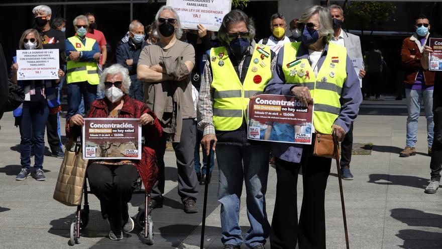 """Las Marchas de la Dignidad critican a un Gobierno regional """"que no ve los problemas del pueblo"""""""