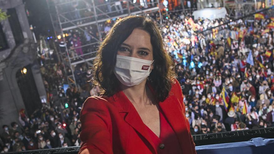 Kantersieg der Konservativen in der Hauptstadt-Region Madrid
