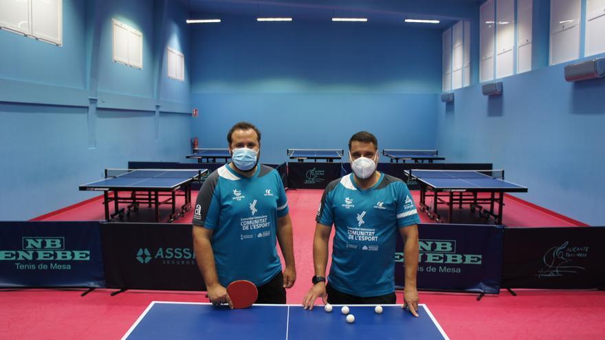 Volver a empezar, la historia del Club Alicante Tenis de Mesa