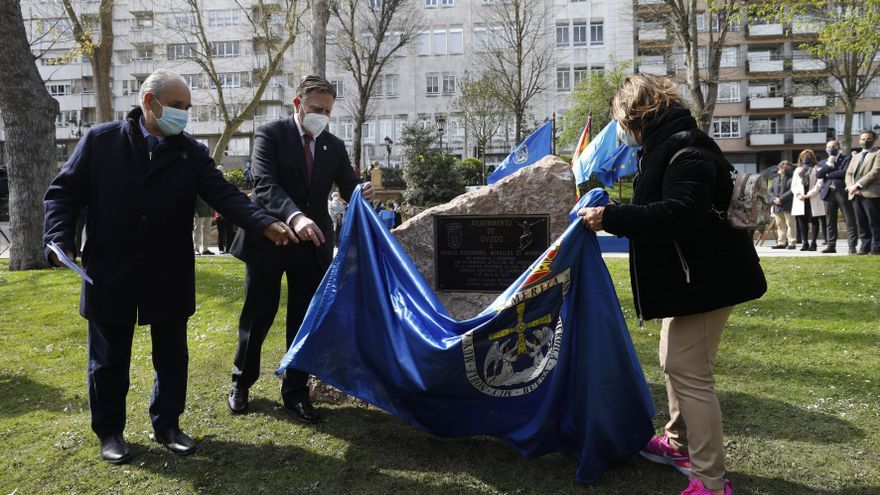 Oviedo homenajea al héroe del monopatín