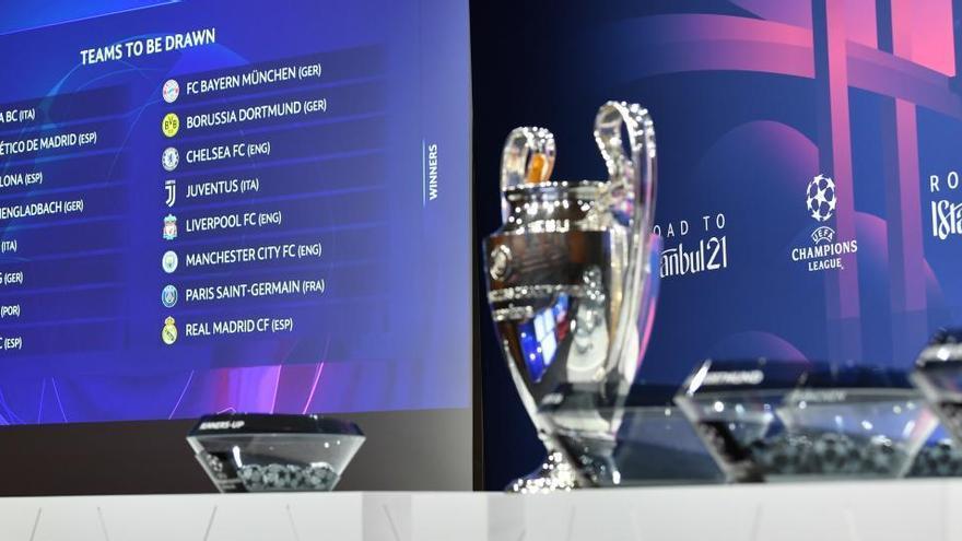 Atalanta-Madrid, Barça-PSG, Sevilla-Dortmund y Atlético-Chelsea en Champions
