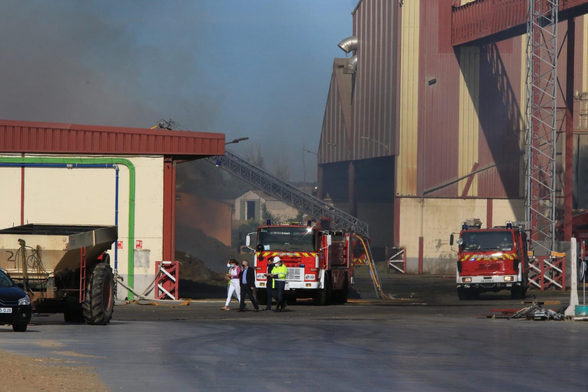 GALERÍA | El día después del incendio en Cobadu