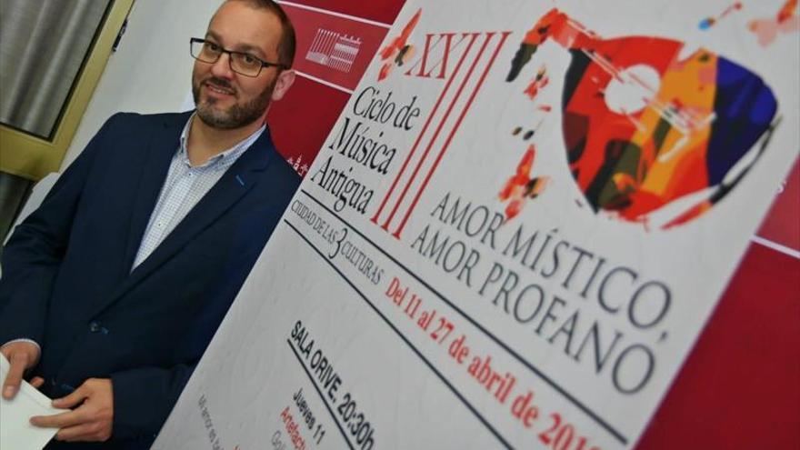 El Ciclo de Música Antigua ofrecerá 6 recitales en torno al amor místico
