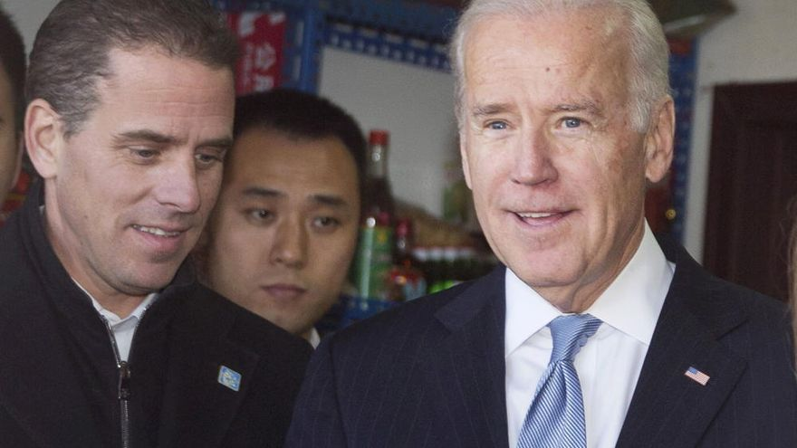 El hijo de Biden, investigado por asuntos fiscales por sus negocios en China