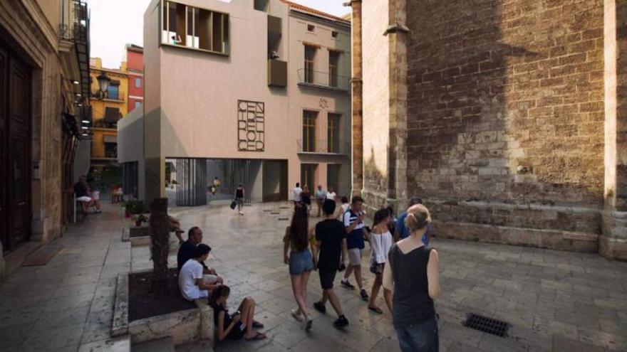 Amics del Carme se moviliza contra el diseño el edificio anexo a la Casa del Relojero