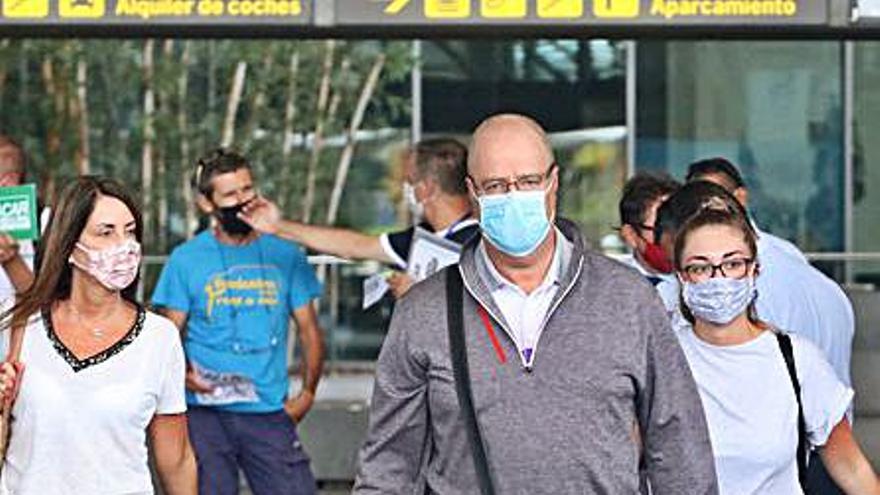 El flujo de pasajeros en el aeropuerto de Málaga es un 80% inferior a la era preCovid