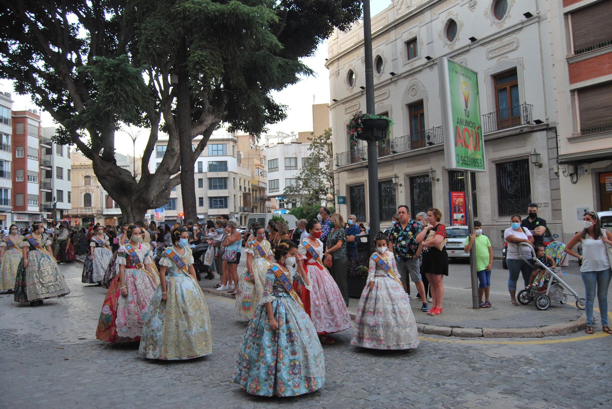 Acto de inauguración de las fiestas josefinas que se celebran del 8 al 12 de octubre en Burriana