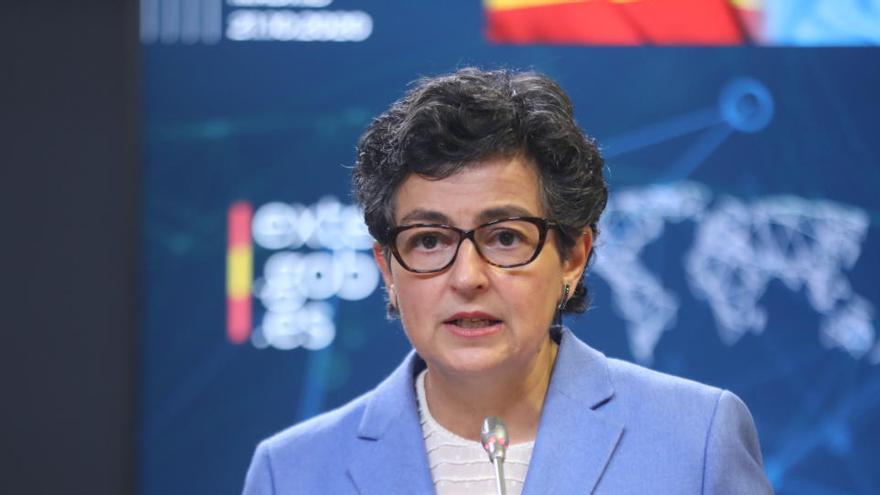 González Laya pospone la reunión con Urkullu por la negociación sobre Gibraltar