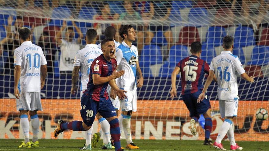 El fútbol premia la fe del Levante UD