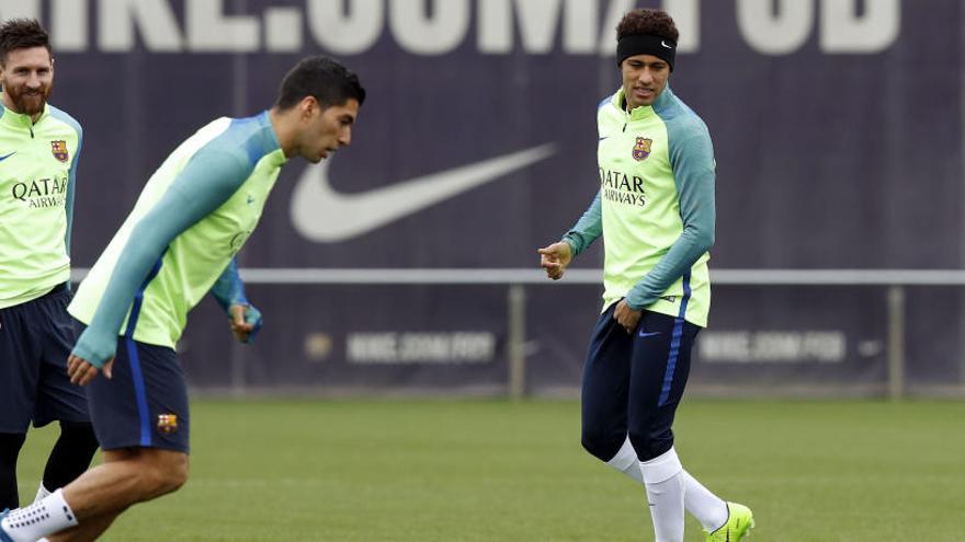 El Barça comença a preparar la remuntada contra el PSG