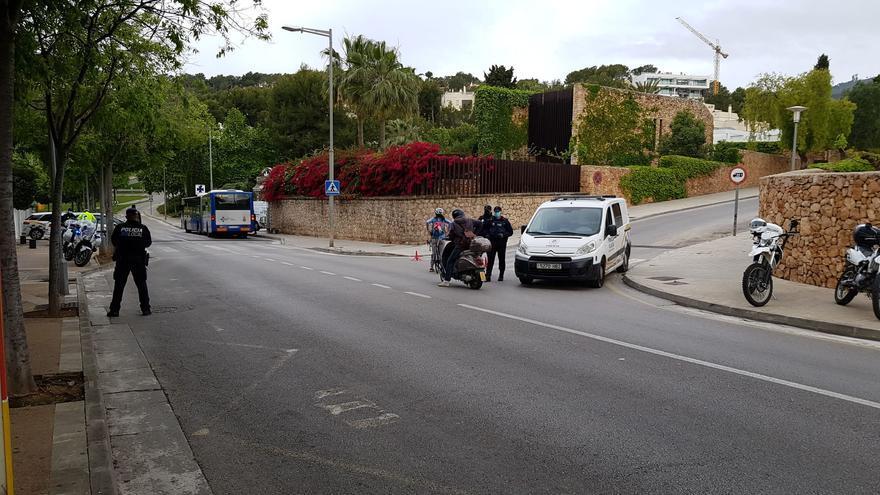 No llevar mascarilla en el coche se convierte en la infracción más frecuente en Calvià