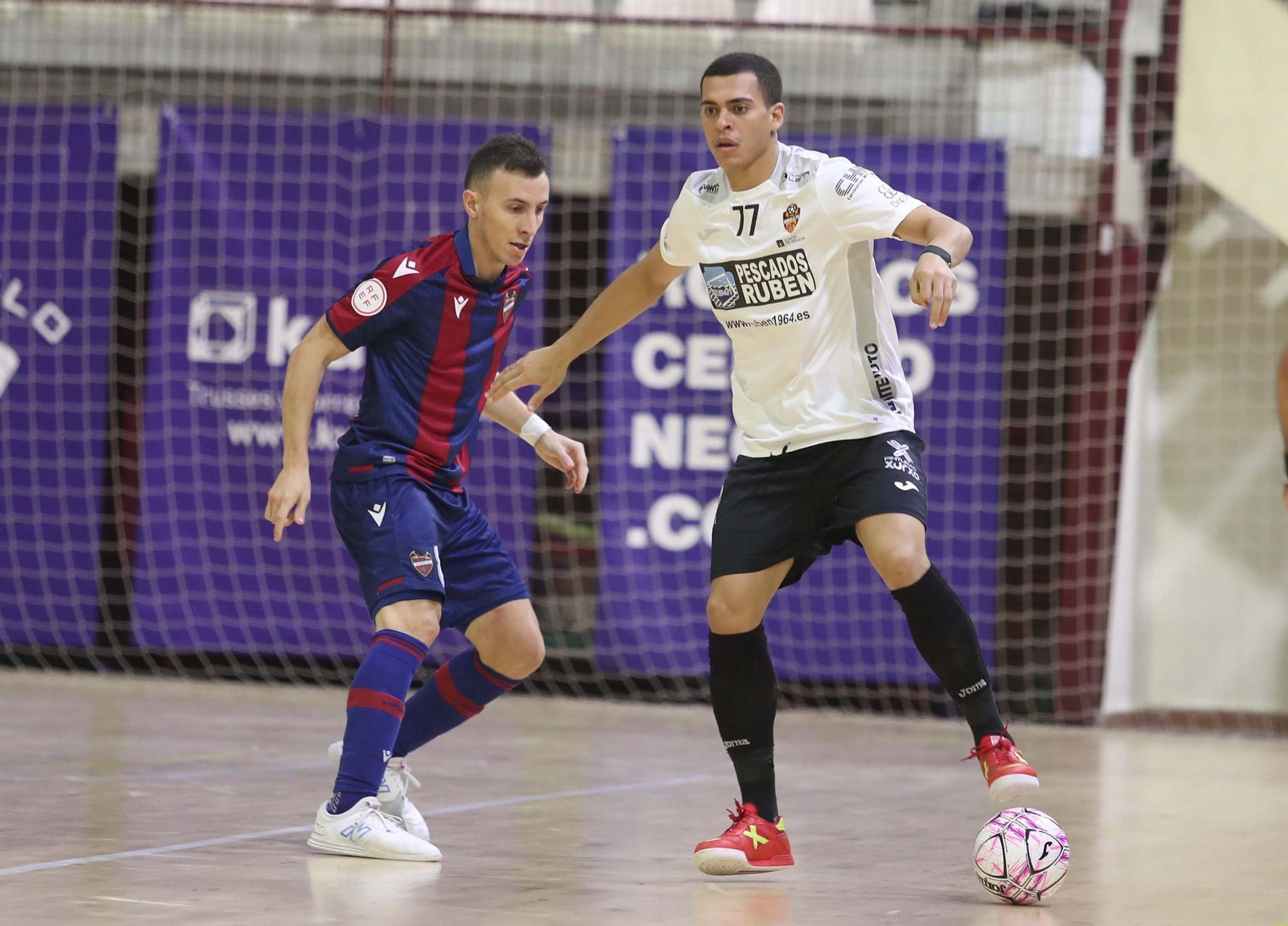 Levante UD FS - Burela FS (5-3) jornada 4 LNFS