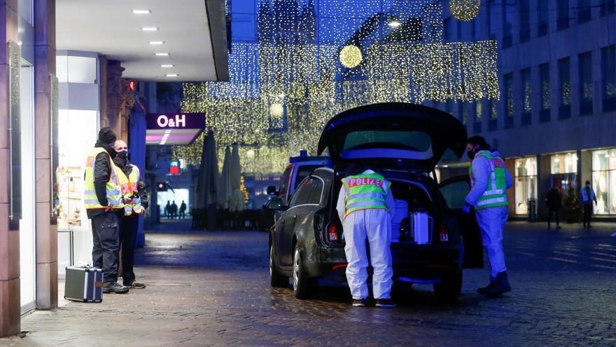 Cuatro muertos, entre ellos un bebé, en un atropello masivo en Alemania