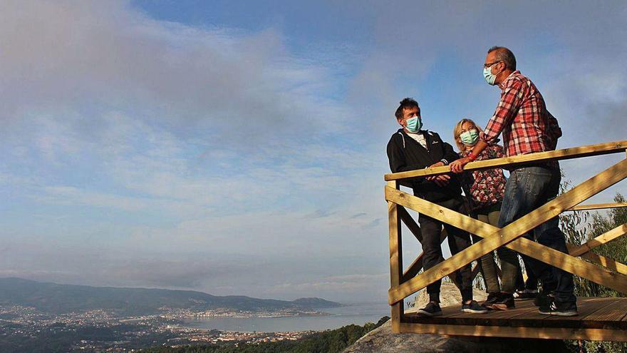 El área de Vigo gana un mirador con vistas al Val Miñor