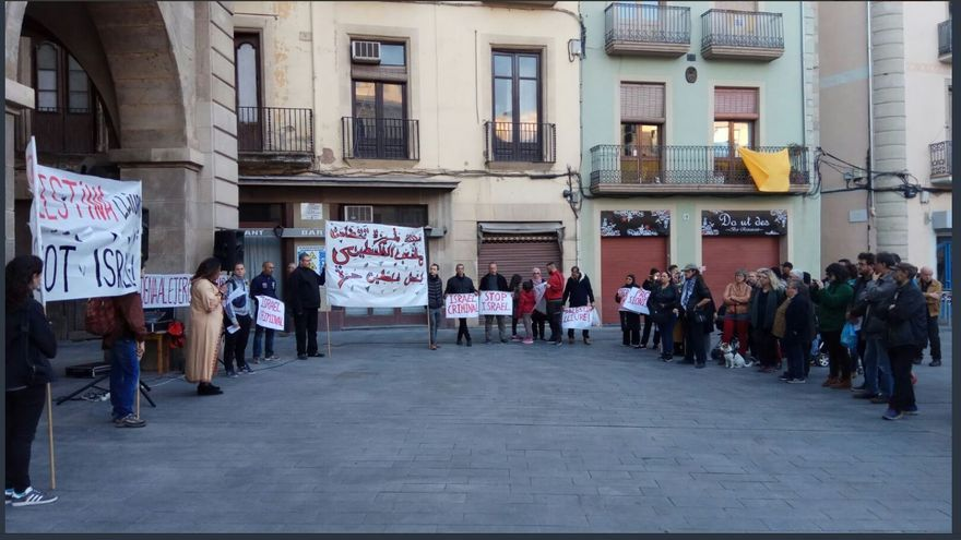 Convoquen a Manresa una manifestació en suport a Palestina
